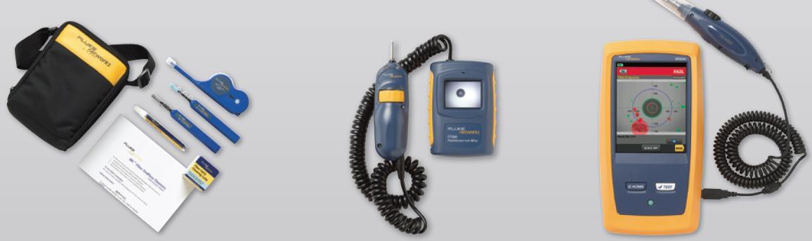 Комплект для очистки оптоволокна, FT500 Видеомикроскоп FiberInspector Mini, FI-7000 FiberInspector Pro