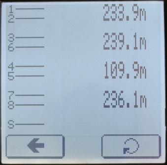 Определение расстояния до обрыва пары 4-5 кабельным тестером