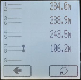 Определение расстояния до короткого замыкания в паре кабельным тестером Greenlee NetCat Pro NC-500