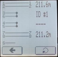 Отображение расщепленных пар кабельным тестером Greenlee NetCat Pro NC-500 с удаленным идентификатором
