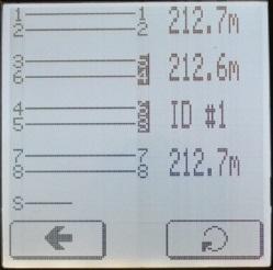 Отображение перепутанных пар кабельным тестером с удаленным идентификатором