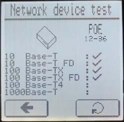 Тестирование активной сети кабельным тестером Greenlee NetCat Pro NC-500