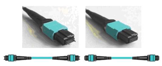 Оптические разъемы MPO со штырьками и без штырьков