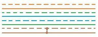 Определение короткого замыкания между жилами 7-8, 4-й пары витой пары